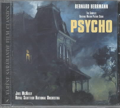 PSYCHO (OST) BY HERRMANN,BERNARD (CD)